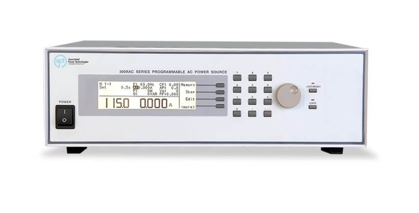 AC Power Source 300XAC- Front