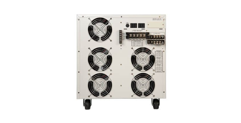 1 and 3 Phase AC Power Source 400XAC- Back