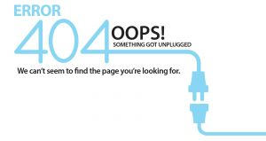 404 Error Graphic