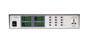 Manual AC Power Sources 5000 Series - Front