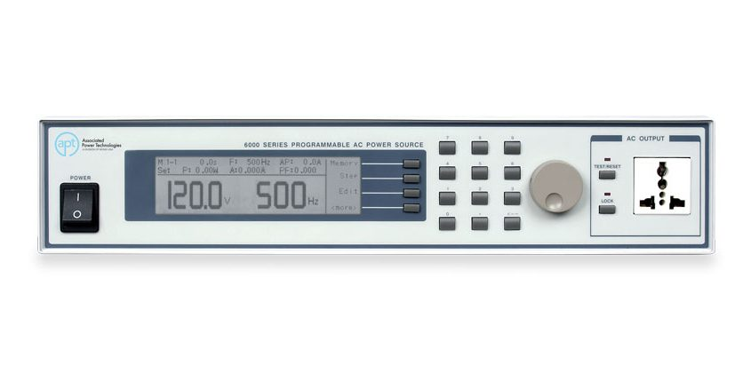 Programmable AC Power Sources 6000 - Front