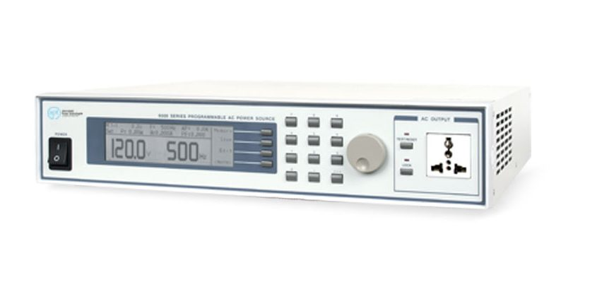 Programmable AC Power Sources 6000 - Side