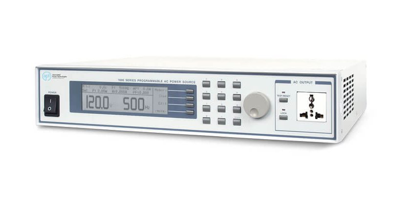 Automated AC Power Sources 7000 - Side