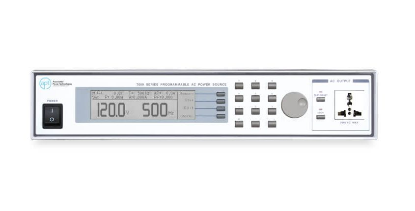 Automated AC Power Sources 7000 - Front