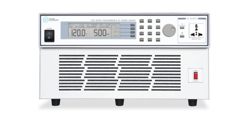 Automated AC Power Source 7040 - Front