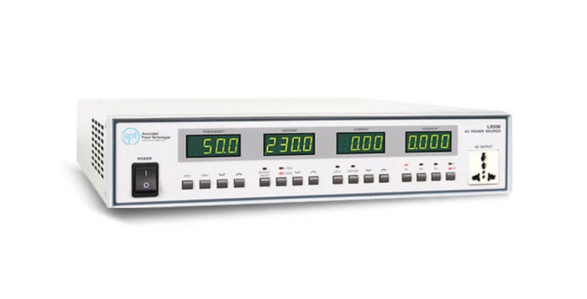 Linear AC Power Sources LS Series - Side