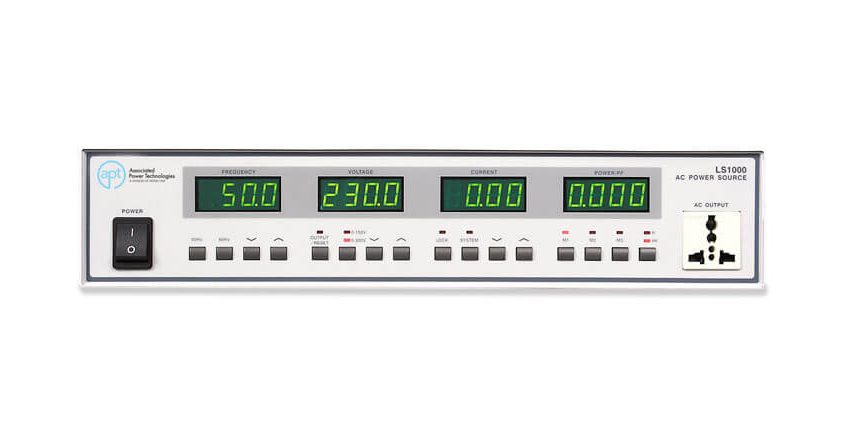 Linear AC Power Sources LS Series - Front